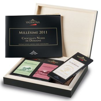 Estate grown coffret open