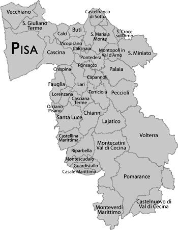 Pisa-map