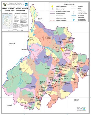 Santander_Department_Map_Colombia