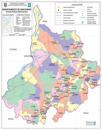 Santander_Department_Map_Colombia